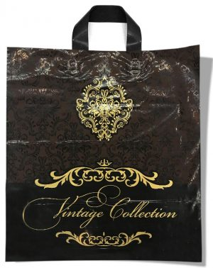 "Пакет с петлевой ручкой тип ""Диор"" ""Vintage Collection"" (37х43) 25 шт"