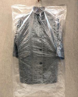 Пакет для одежды (шуршик) ПНД (63х130) 100шт 9 мкм