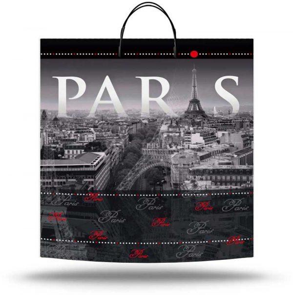 "Пакет на пластиковой ручке ""Paris"" (40х45) 10 шт"