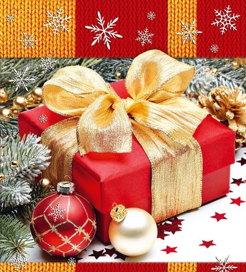 Подарочный пакет картонный «Квадрат» NGKV-014 (23х24х10)