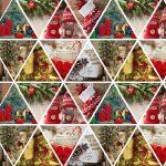 Бумага Подарочная новогодняя 113 (70х100)