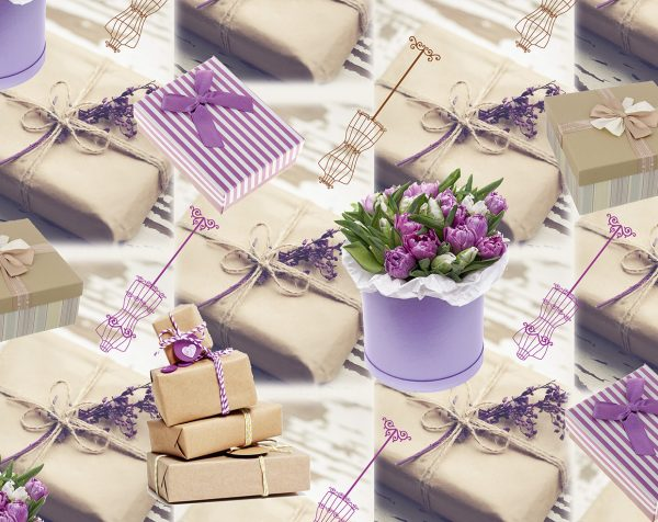 Бумага Подарочная 02 (70х100)