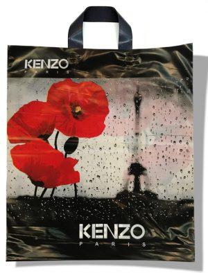 """Пакет с петлевой ручкой тип """"Диор"""" """"Kenzo"""" (37х43) 25 шт"""