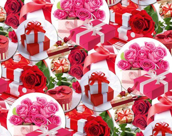 Бумага Подарочная 13 (70х100)