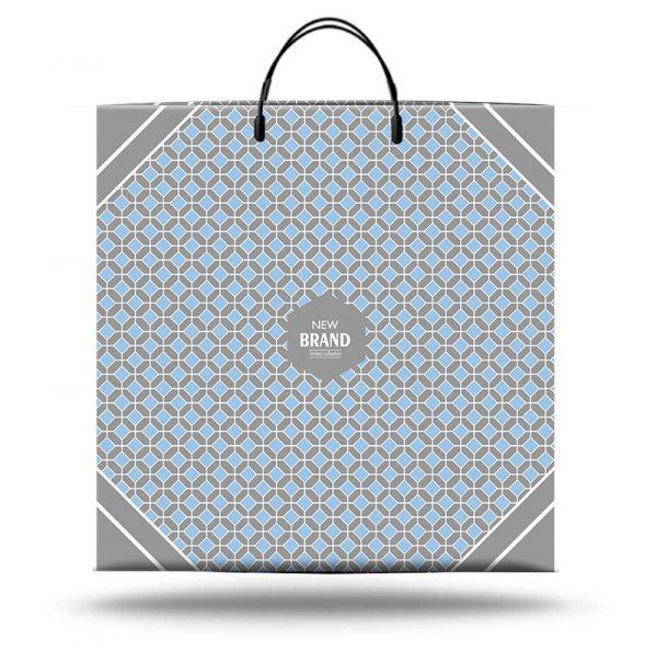 """Пакет на пластиковой ручке """"New brand"""" (40х40) 10 шт"""