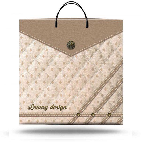 """Пакет на пластиковой ручке """"Luxury Design"""" (40х40) 10 шт"""