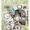 """Подарочный пакет картонный """"ГИГАНТ ШИРОКОЕ ДНО"""" 05 """"Велосипед"""" (30х40х17)"""