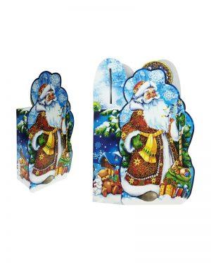 """Коробка картонная """"Дед Мороз 2"""" для конфет (600 г)"""