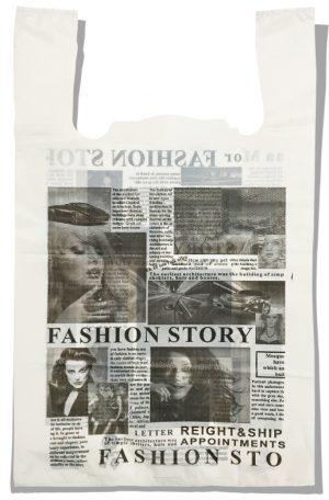 """Пакет-майка """"Газета"""" Comserv 45 кг (35x57) 100 шт"""