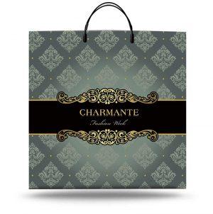 """Пакет на пластиковой ручке """"Charmante"""" (40х40) 10 шт"""