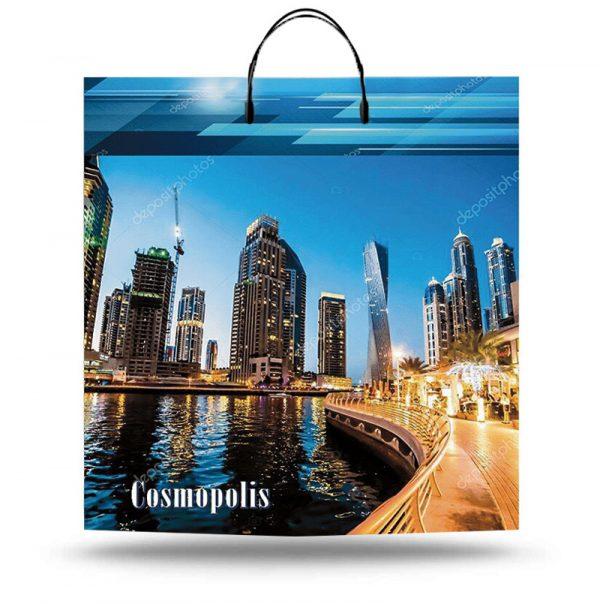"""Пакет на пластиковой ручке """"Cosmopolis"""" (40х45) 10 шт"""