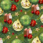 Бумага Подарочная новогодняя 111 (70х100)