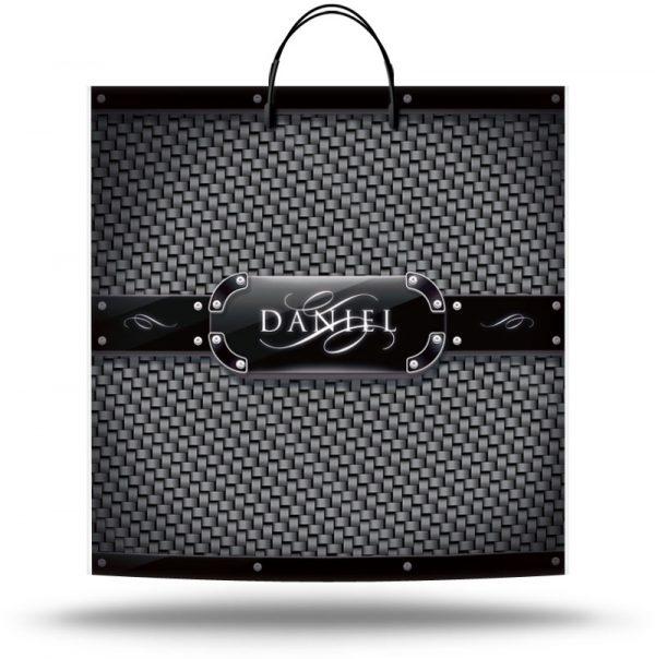 "Пакет на пластиковой ручке ""Daniel"" (36х37) 10 шт"