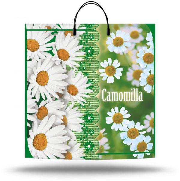 """Пакет на пластиковой ручке """"Camomilla"""" (40х40) 10 шт"""