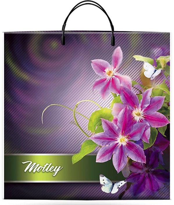"""Пакет на пластиковой ручке """"Motley"""" (36х37) 10 шт"""