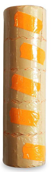 Ценники узкие 5 шт оранжевые