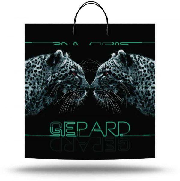 "Пакет на пластиковой ручке ""Gepard"" (40х45) 10 шт"