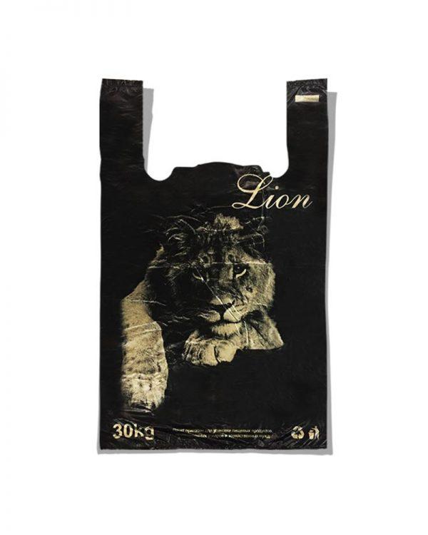 "Пакет-майка ""Lion"" (30×48) 250 шт"