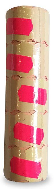 Ценники узкие 5 шт розовые