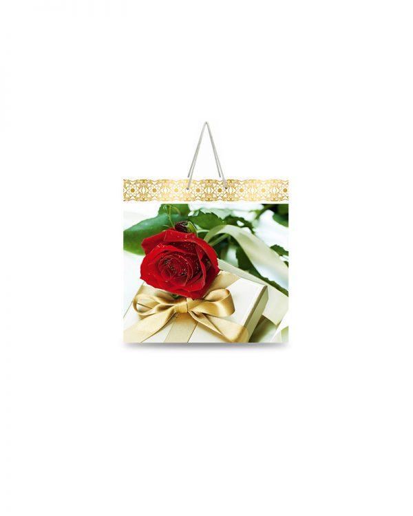 """Подарочный пакет картонный  """"ЧАШКА"""" 096 (16х16х8)"""