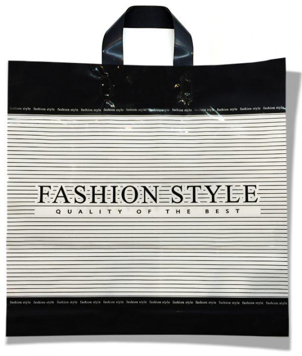 "Пакет с петлевой ручкой ""Fashion Style"" (38х37) 25 шт"