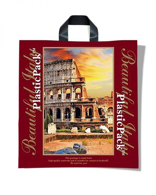 """Пакет с петлевой ручкой тип """"Наксан"""" """"Beautiful Italy"""" (46х48) 25 шт"""