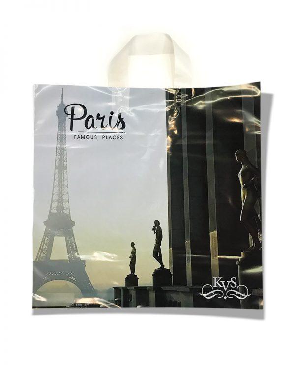 """Пакет с петлевой ручкой тип """"KVS"""" """"Paris"""" (43х42)  25 шт"""