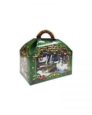"Коробка картонная ""Сундучок"" для конфет (800-1000 г)"