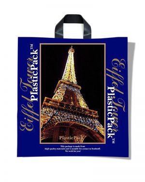 "Пакет с петлевой ручкой тип ""Наксан"" ""Eiffel Tower"" (46х48) 25 шт"