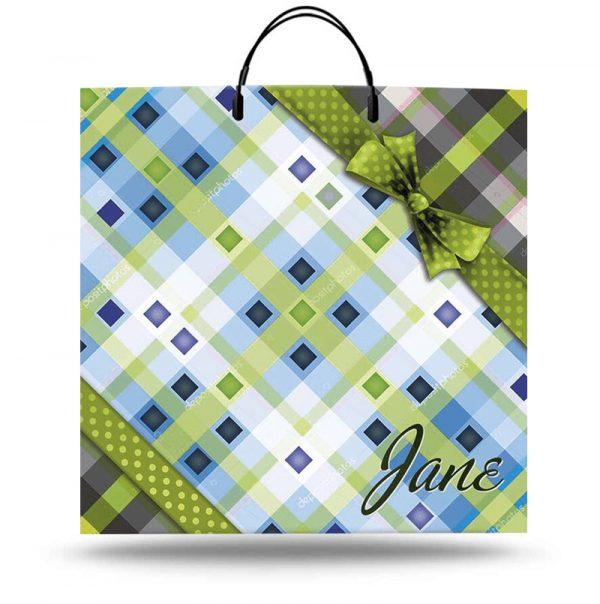 """Пакет на пластиковой ручке """"Jane"""" (40х40) 10 шт"""