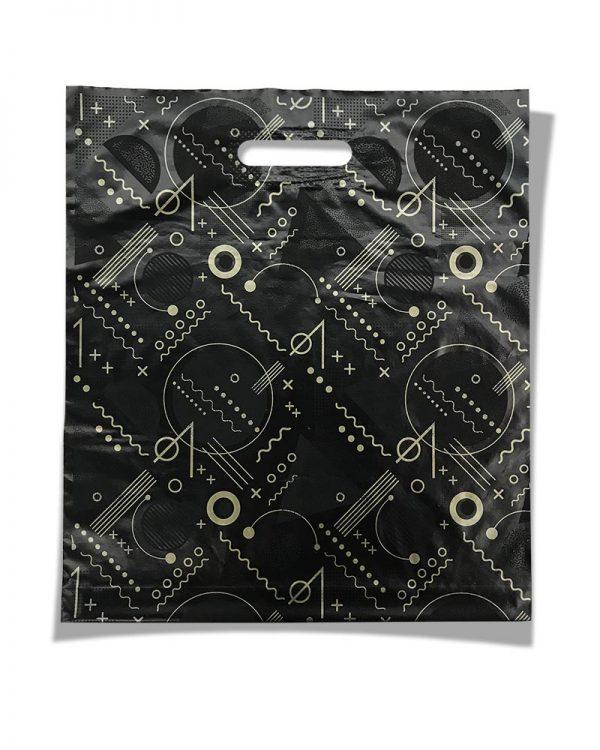 """Пакет с прорезной ручкой """"Pattern"""" (40х50) 25 шт"""