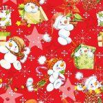 Бумага Подарочная новогодняя 119 (70х100)