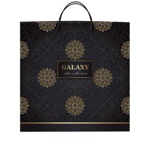 """Пакет на пластиковой ручке """"Galaxy"""" (40×40) 10 шт"""