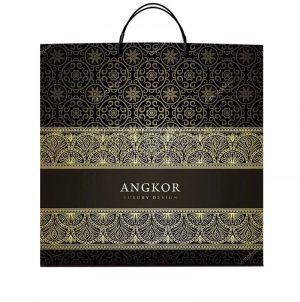 """Пакет на пластиковой ручке """"Angkor"""" (40х40) 10 шт"""