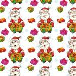 Бумага Подарочная новогодняя 122 (70х100)