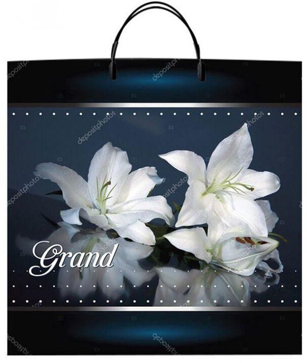"""Пакет на пластиковой ручке """"Grand"""" (36х37) 10 шт"""