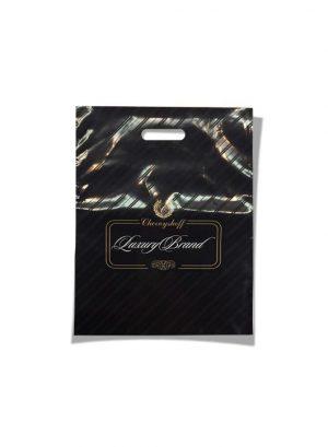 """Пакет с прорезной ручкой """"Luxury Brand"""" (20х30) 50 шт"""