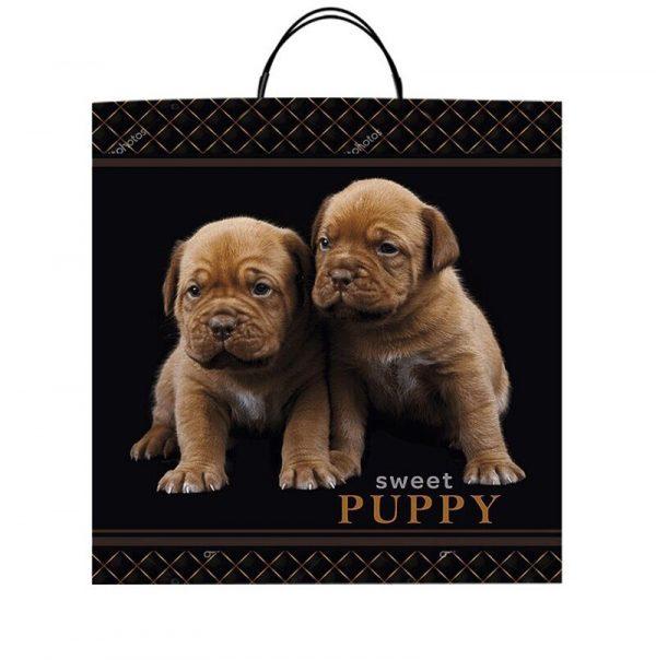 """Пакет на пластиковой ручке """"Sweet Puppy"""" (40х45) 10 шт"""