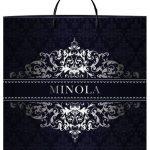 """Пакет на пластиковой ручке """"Minola"""" (36х37) 10 шт"""