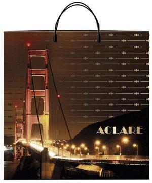 """Пакет на пластиковой ручке """"Aglare"""" (40х40) 10 шт"""