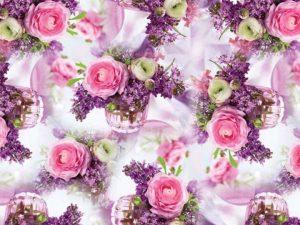 """Бумага Подарочная 30 """"Цветы"""" (70х100)"""