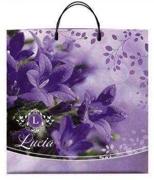 Пакет на пластиковой ручке «Lucia» (40*40) 10 шт.