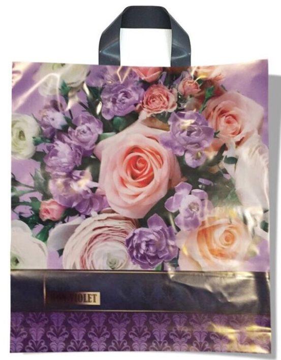 Пакет с петлевой ручкой тип «Диор» «Bon Violet» (37*41) 25 шт
