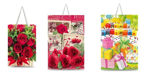 Картонные подарочные пакеты мелким оптом