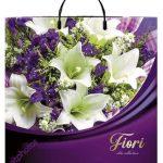 Пакет на пластиковой ручке «Fiori» (40*40) 10 шт.