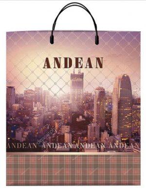 Пакет на пластиковой ручке «Andean» (40*45) 10 шт.