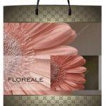 Пакет на пластиковой ручке «Floreale» (40*45) 10 шт.