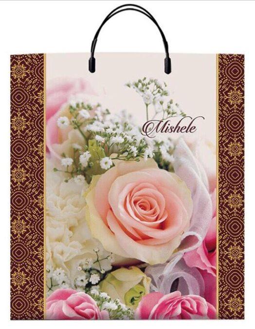 Пакет на пластиковой ручке «Mishele» (40*45) 10 шт.