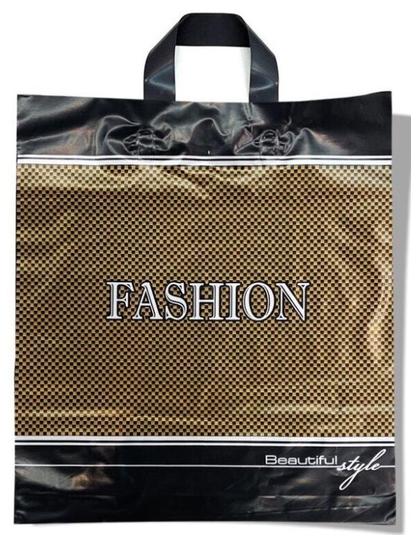 Пакет с петлевой ручкой тип «Диор» «Fashion 2» (37*41) 25 шт