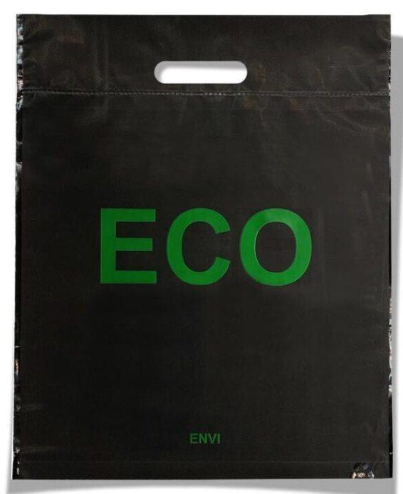 Пакет с прорезной ручкой тип «Serikoff» «Eco» (40*50) 25 шт